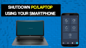 How to Remotely Shutdown PC With Android Smartphone