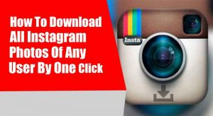 download instagram all photos at one click